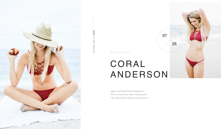 Coral Anderson @ San Diego Model Management