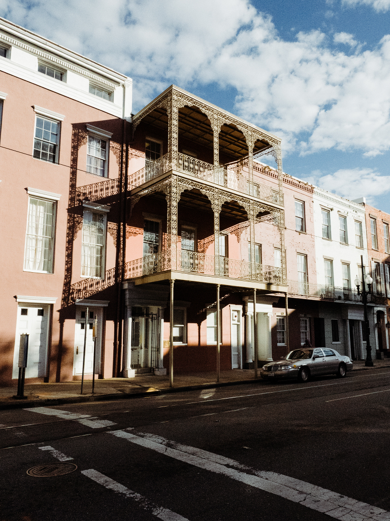 Carondelet and Girod Street, New Orleans